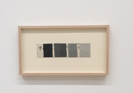 Josef Albers, Color Study (n.d.), via Art Observed