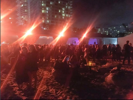 White Cube's ocean-side party at the Soho Beach House