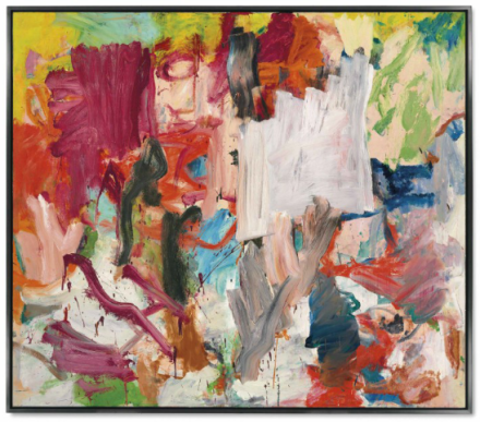Willem de Kooning, Untitled XXV (1977), via Christie's