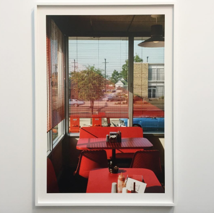William Eggleston, Untitled from The Democratic Forest, (c. 1983-1986), via Art Observed