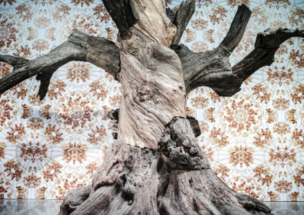 Ai Weiwei, Roots and Branches at Mary Boone (Installation View), via Art Observed