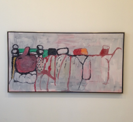 Philip Guston, In Bed II (1971)