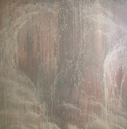 Pat Steir, Wind, Water and Stone: 6 AM (1997), via Art Observed