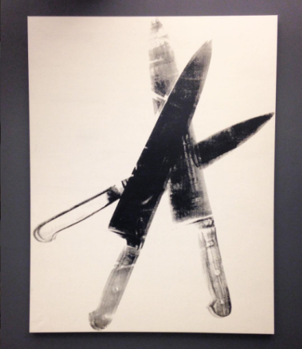 Andy Warhol, Knives (1981-82)