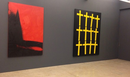 Warhol, Wool, Guyton at Nahmad Contemporary (Installation View)