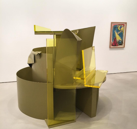 Anthony Caro, First Drawings Last Sculptures (Installation View), via Art Observed