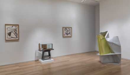 Anthony Caro, First Drawings Last Sculptures (Installation View), via Mitchell-Innes and Nash