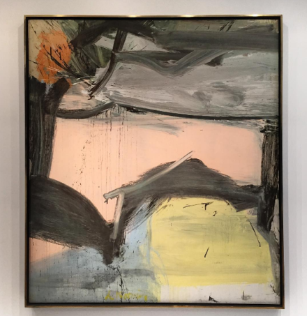 Willem de Kooning, Untitled (1962), via Art Observed