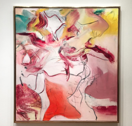 Willem de Kooning, Untitled (1980), via Art Observed