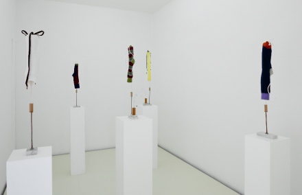 B Wurtz (Installation View), via Lulu Gallery