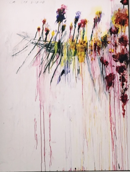 Cy Twombly, (Installation View), via Art Observed