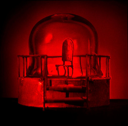 Louise Bourgeois UNTITLED (detail) (1998-2014), Suite of 8 Holograms © The Easton Foundation/Licensed by VAGA, NY.