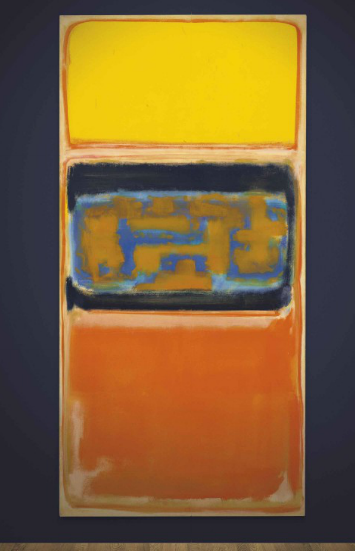 Mark Rothko, No. 1 (1949), via Christie's