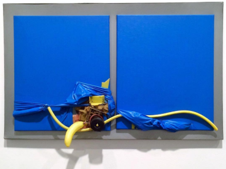Miguel Ángel Cárdenas, Blue lovers (1965), via Kelly Lee for Art Observed