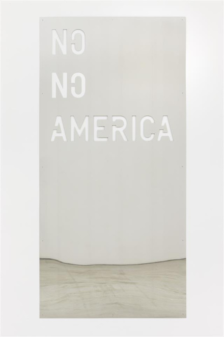 Rirkrit Tiravanija, untitled 2013 (no no america) (2013), via Gavin Brown's Enterprise