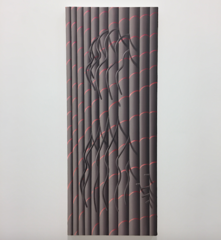 Sascha Braunig, Pillar (2015), via Art Observed