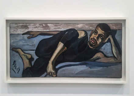 Alice Neel, Ballet Dancer (1950), via Art Observed