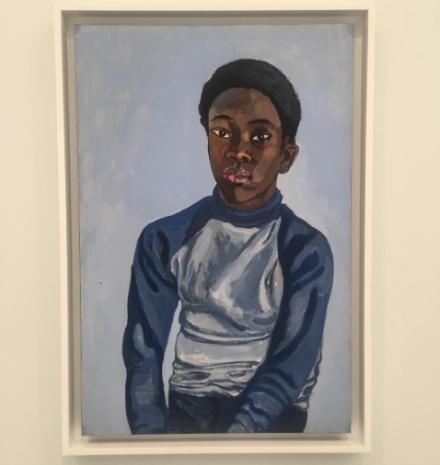 Alice Neel, Benjamin (1976), via Art Observed