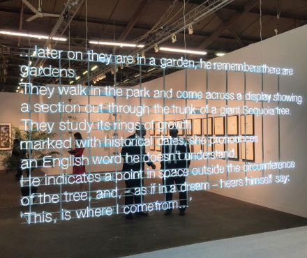 Cerith Wyn Evans at White Cube, via Art Observed