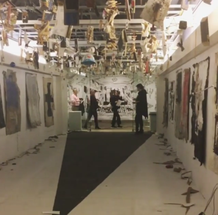 Elephant in the Room, curated by Andrew Gori, Ambre Kelly, and Catinca Tabacaru, via Art Observed