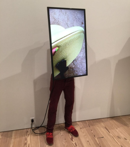 John Riepenhoff featuring video by Saige Rowe, via Art Observed