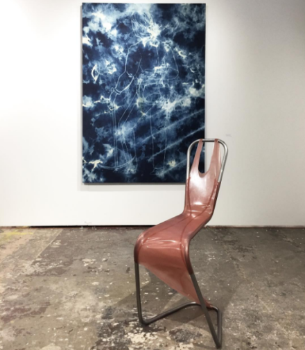 Mike Bouchet and Hannah Levy at Parisa Kind, via Art Observed