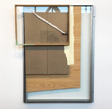 Pedro Cabrita Reis at Sprovieri, via Art Observed