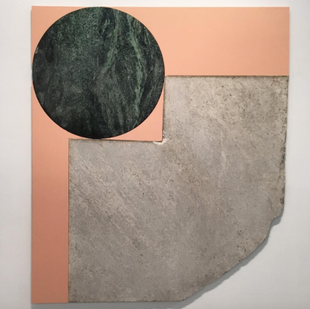 Sam Moyer at Sean Kelly, via Art Observed