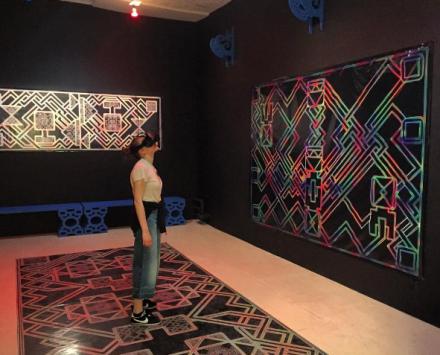 MSHR's VR Installation, via Art Observed