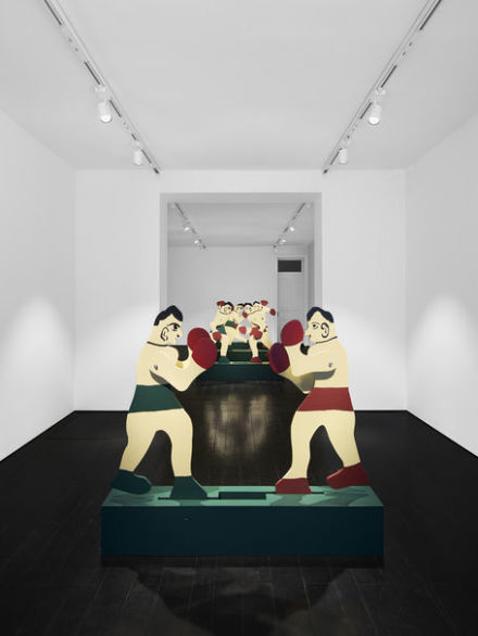 Marianne Vitale, Boxers (Installation View), via CFA