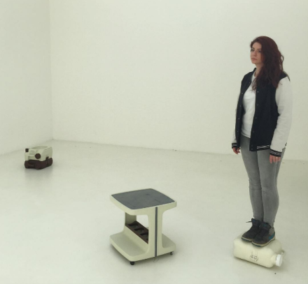 Erwin Wurm's One Minute Sculptures at the Austrian Pavilion, via Art Observed