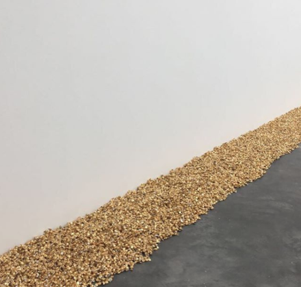 Felix Gonzalez-Torres (Installation View), via Art Observed