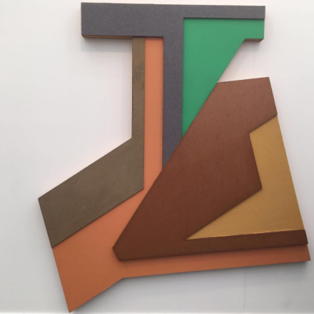 Frank Stella at Levy Gorvy, via Art Observed