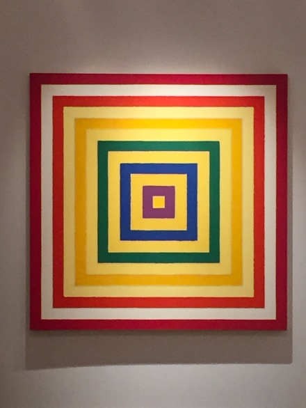 Frank Stella at Van de Weghe, via Art Observed