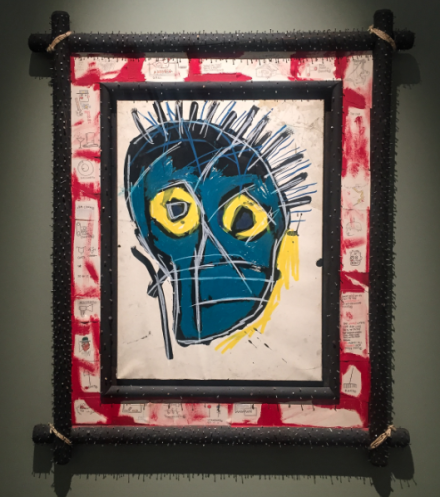 Jean-Michel Basquiat, Wienerroither Un Kolbacher, via Art Observed