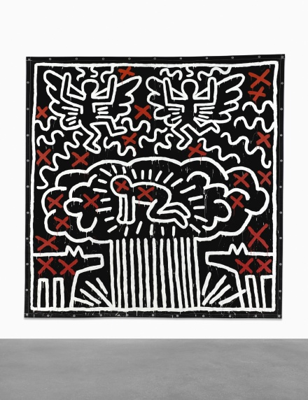 Keith Haring, Untitled (1982), via Sotheby's