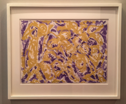 Lee Krasner at Paul Kasmin, via Art Observed