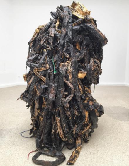 Mark Bradford, Medusa (2016), via Art Observed