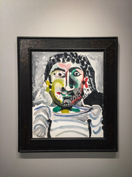 Pablo Picasso at Acquavella Galleries, via Art Observed
