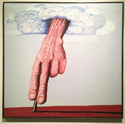 Philip Guston, The Line (1978), via Art Observed