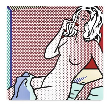Roy Lichtenstein, Nude Sunbathing (1995), via Sothebys