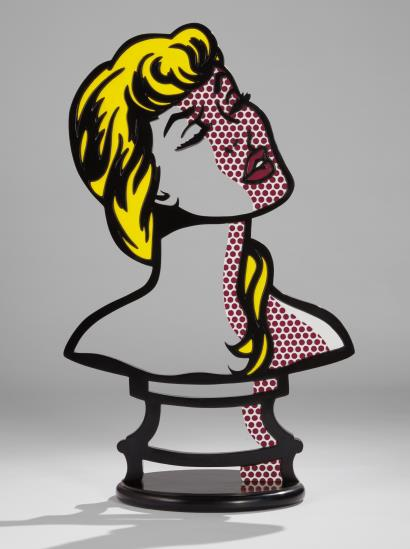 Roy Lichtenstein, Woman Sunlight, Moonlight (1996), via Phillips