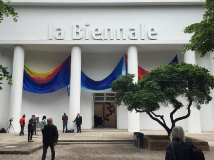 The Central Pavilion of the Venice Biennale, via Art Observed