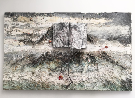 Anselm Kiefer, For Segantni The Bad Mothers (2011-2012), via Art Observed