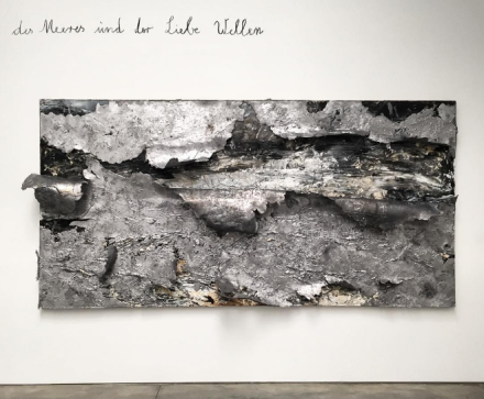 Anselm Kiefer, The Waves of Sea and Love (2016), via Art Observed