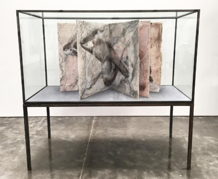Anselm Kiefer, Transition from Cool to Warm(Installation View), via Art Observed