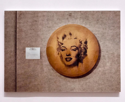Louise Lawler, Does Andy Warhol Make You Cry? (1988), via Art Observed
