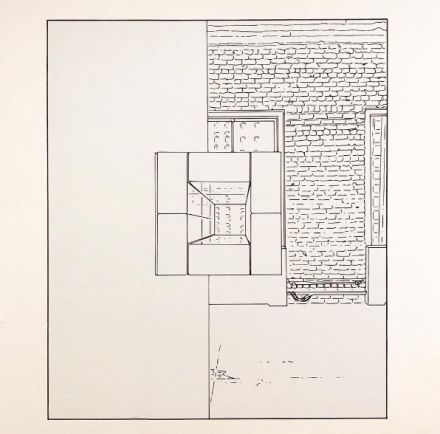 Louise Lawler, Untitled (traced) (2006:2013), via Art Observed