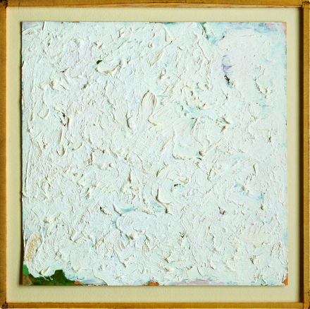 Robert Ryman, Untitled (1961), via Peter Blum