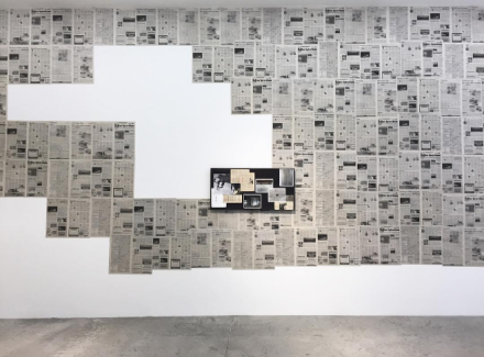 Andrea Zittel and Tom Burr, Concrete Realities (Installation View), via Art Observed